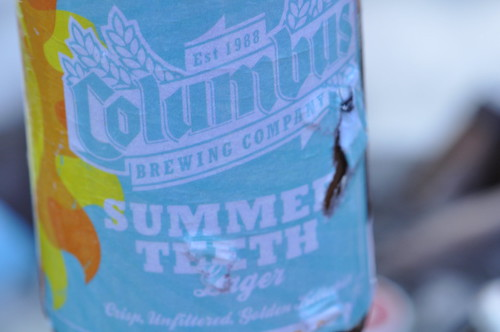 A Refreshing Bottle of Columbus Brewing Company's Summer Teeth Lager