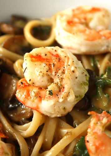 My Spicy Noodles with Mairlyn Smith's Garlic Shrimp