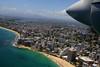 Island Bound (cormend) Tags: ocean green tourism beach america plane canon airplane puerto island eos flying san juan puertorico tourist rico american caribbean propeller 50d cormend