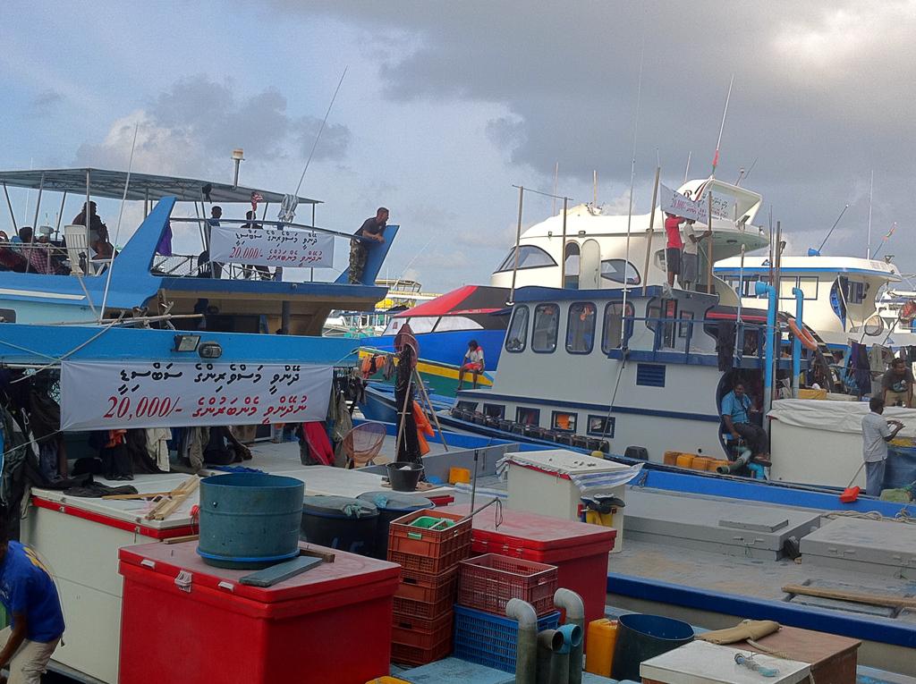 Fishermen against the 20k allowance