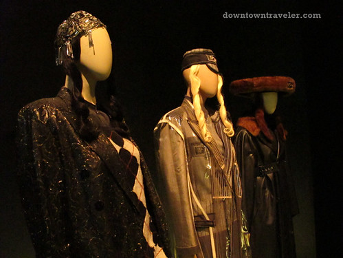 Jean Paul Gaultier chic rabbis at Montreal Musee des Beaux Arts