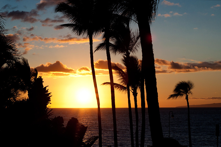 wailea sunset
