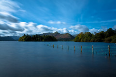 Derwentwater | Keswick | The Lake District (capturedcanvas.co.uk) Tags: blue chris lake photography district derwent captured smith canvas filter lee cumbria derwentwater keswick bigstopper