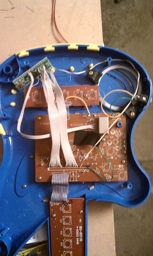 Guts of guitar