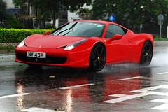 Ferrari 458 Italia (Rupert Procter) Tags: auto hk car hongkong nikon ride awesome mobil coche motor  kereta  carspotting rwp rupertprocter d80  chasingexotics    juanchai juanchaihk