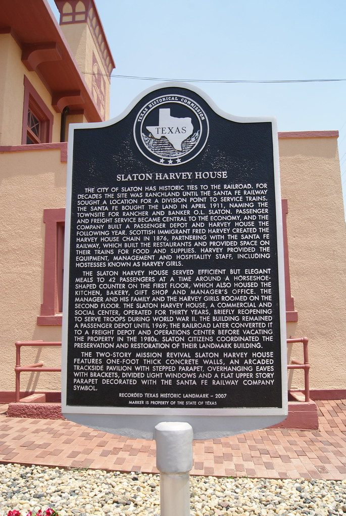 Slaton Harvey House