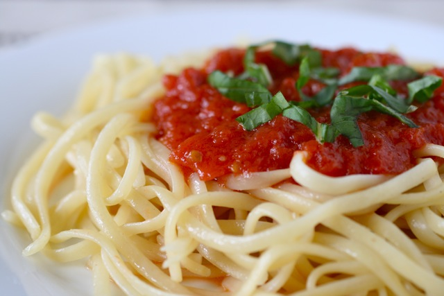 The Simplest Tomato Sauce