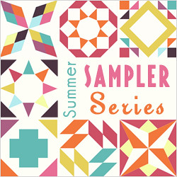 Summer Sampler Series Badge