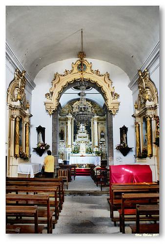 Interior da Igreja de Santo António da Torre Velha by VRfoto