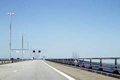 Start of the bridge (roboppy) Tags: bridge sweden oresundbridge