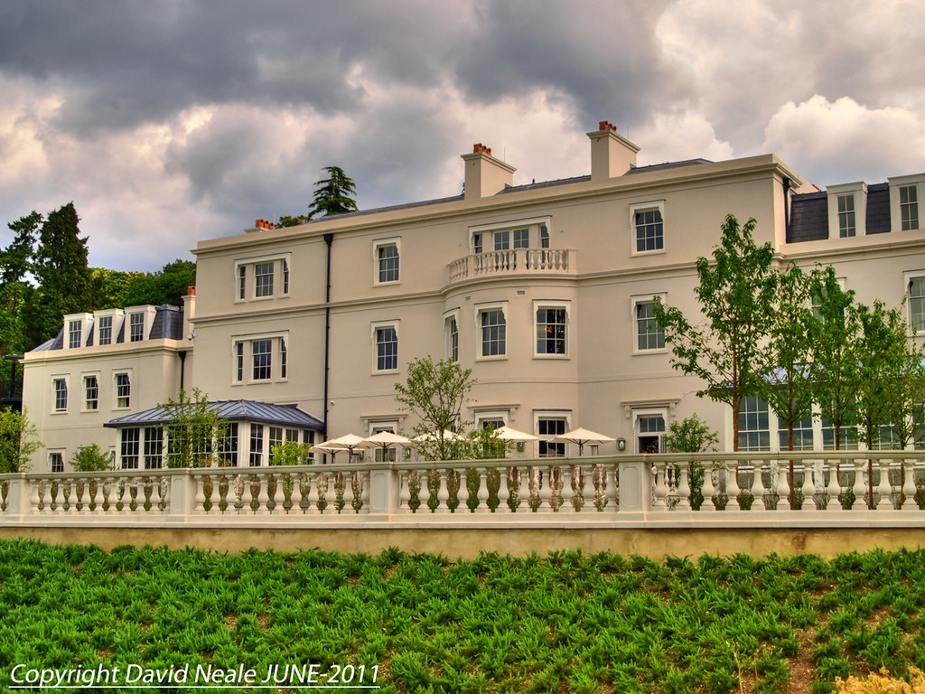 Back View - Coworth Park Hotel
