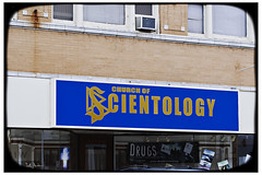 Church of Scientology (swanksalot) Tags: signs chicago 50mm drugs scientology lincoln graceland dianetics hubbard lronhubbard faved swanksalot sethanderson