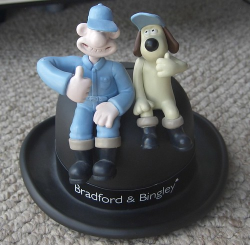 Bradford and Bingley moneybox