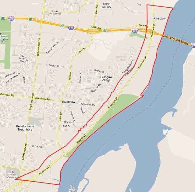 Riverview neighborhood - STL