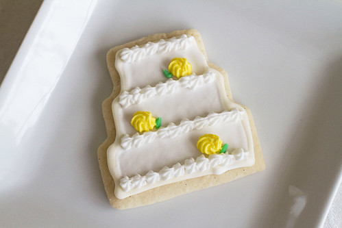 Decorated Wedding Cookies - 3