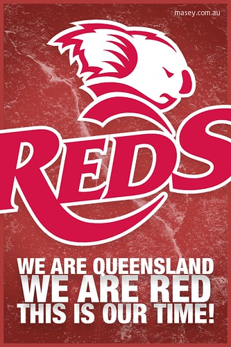 QLD Maroons State of Origin iPhone Wallpaper