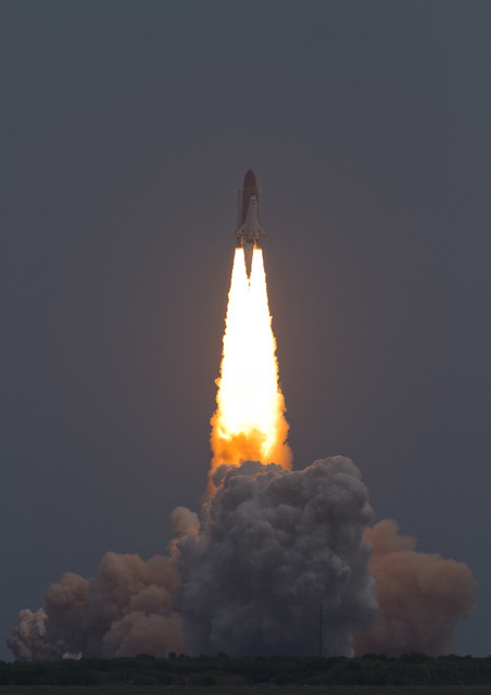 Space Shuttle Atlantis Liftoff STS-135