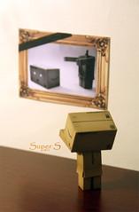 ;D [ Explore ] (p-) Tags: wood brown color colors paper idea sad picture super frame supers danbo