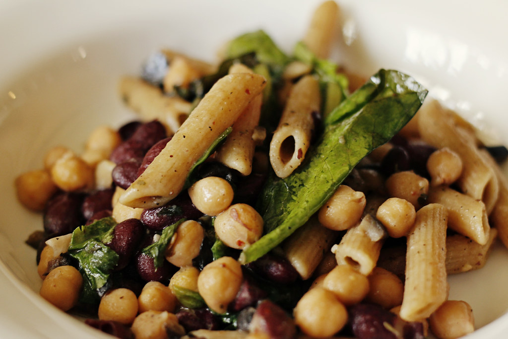 Ingredients: Whole Wheat Penne Pasta, Canned Red Beans, Canned ...