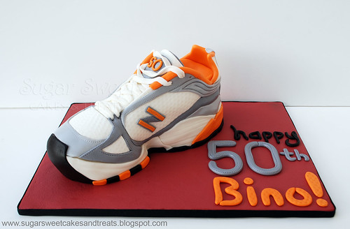 How To Make A Running Shoe Cake