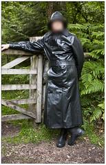 Hussar mackintosh (mike_in_a_mac) Tags: boots raincoat rainwear mackintosh souwester sbr
