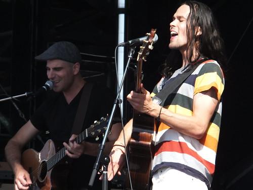 Justin Nozuka at Ottawa Bluesfest 2011