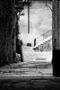 taking a shot (Dennis_F) Tags: street city white black wall zeiss photographer dof sony pflanzen fullframe dslr mauer photog 135mm strase 13518 a850 sonyalpha sonydslr vollformat cz135 zeiss135 dslra850 sonya850 sonyalpha850 alpha850 sony135 sonycz135