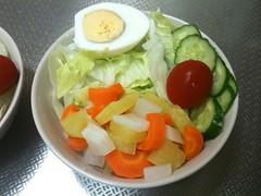 朝食サラダ(2011/7/11)