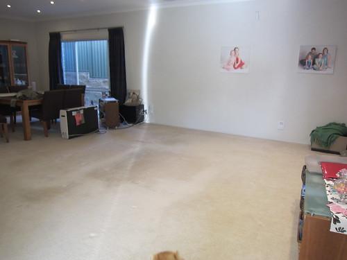 Empty loungeroom