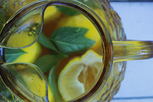 Raspberry White Tea Lemonade