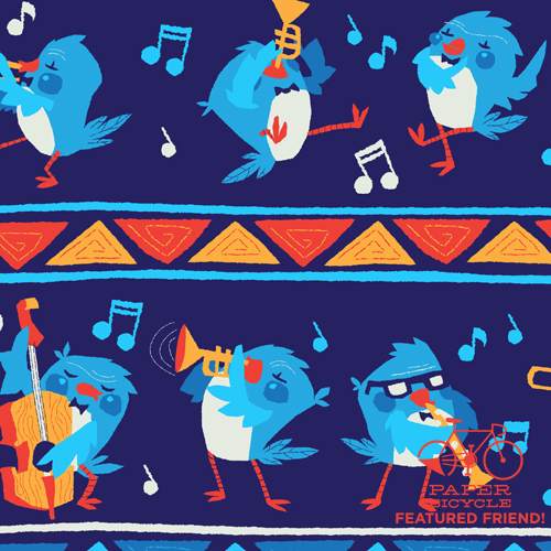Pattern_Song Bird_Detail_md