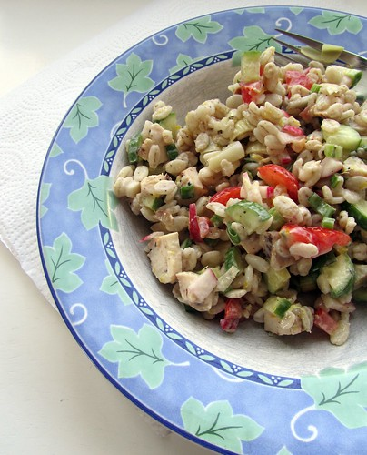 Kitchen Sink Barley Salad