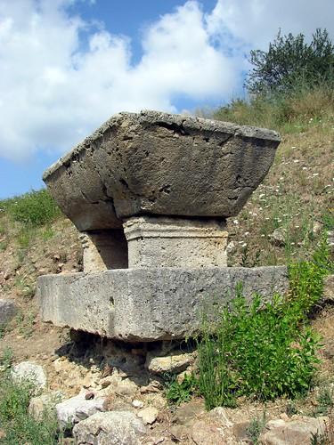 Roselle (Grosseto) - Sarcofago romano
