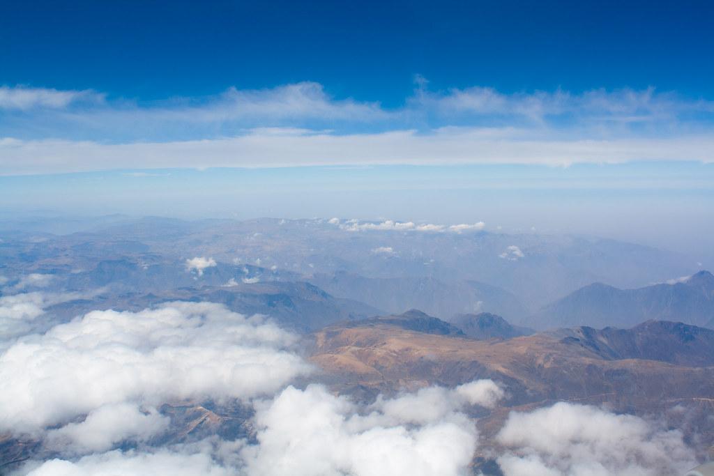 Sobrevoando Peru