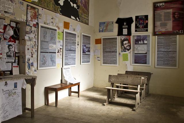 La Higuera - eski okul yeni müze