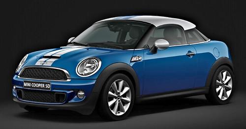 MINI Coupé Cooper SD (R58) - Lightning Blue