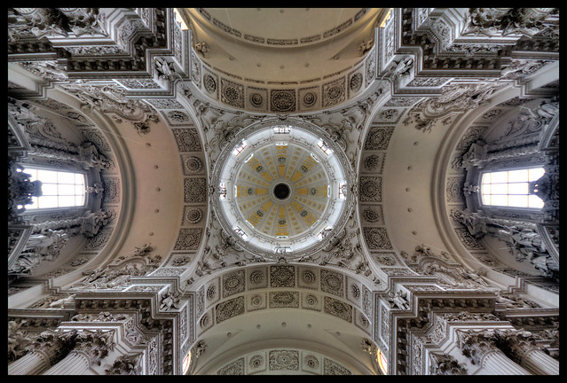 church ceiling in munich