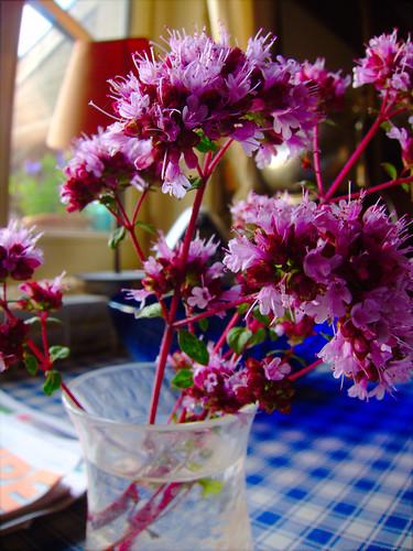 Flowers In Jar by Danalynn C