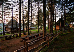 Sirogojno etno village 02 (Katarina 2353) Tags: old trees film forest photography nikon flickr village ima