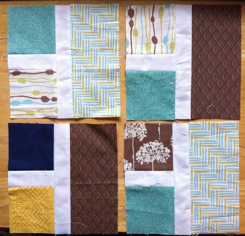 July blocks for do. Good Stitches (Peace Circle)