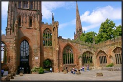 Coventry Cathedral ruin. (nexapt101) Tags: coventry