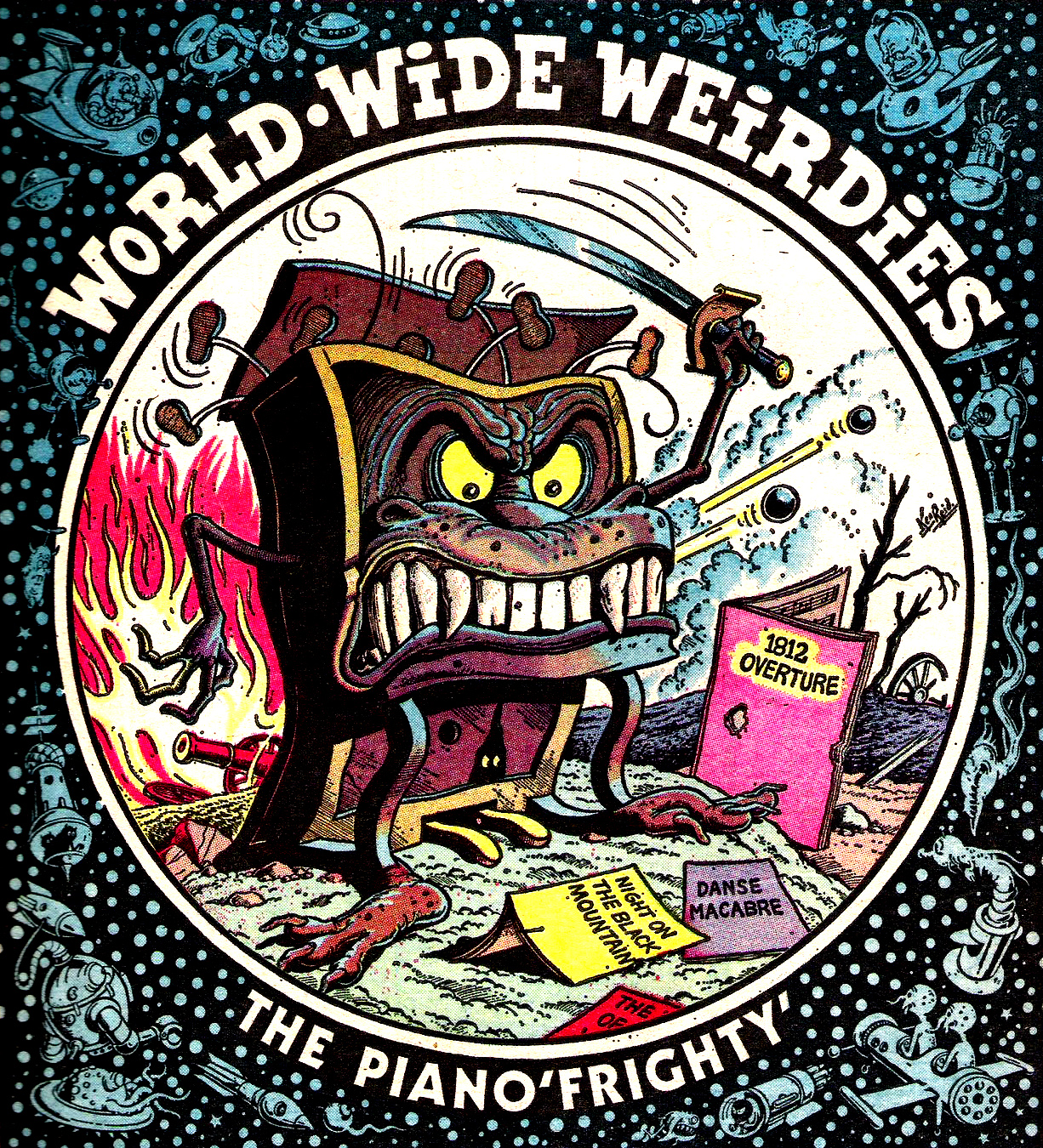 Ken Reid - World Wide Weirdies 50