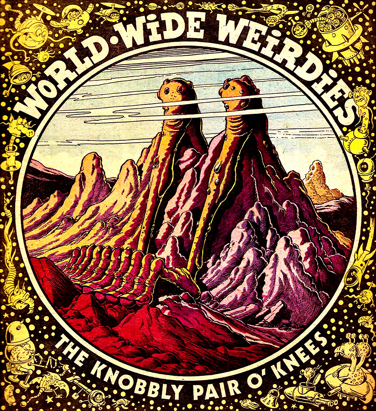 Ken Reid - World Wide Weirdies 83