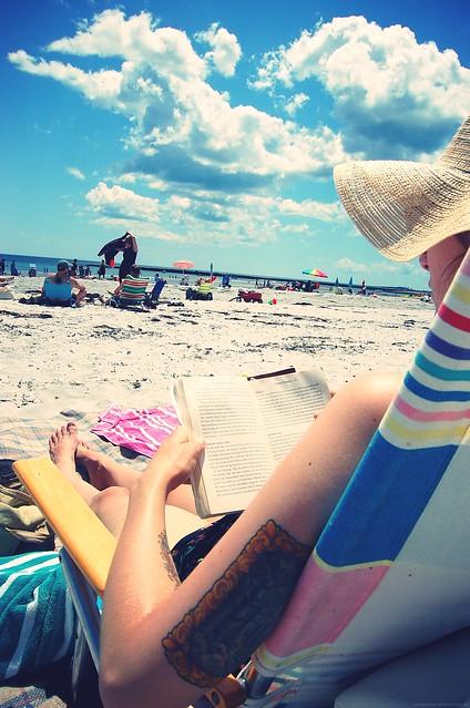 beach sit.