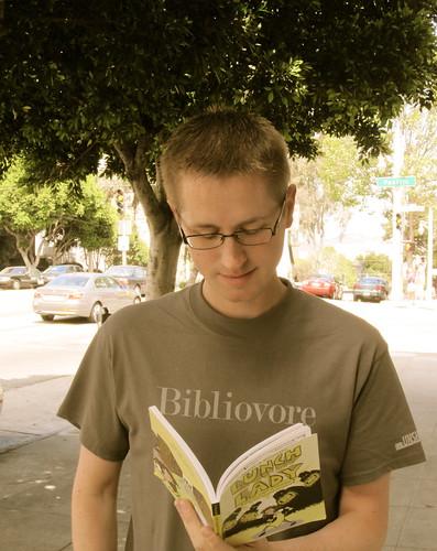 John is a Bibliovore
