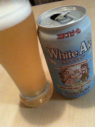 """""""White Ale WEIZEN"""" Echigo beer"""
