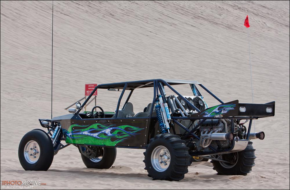 Long Travel Round Up dune buggies + ATV @ Silver Lake Dunes