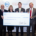 Dell $5 Million check presentation