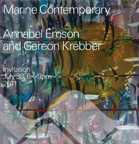 Annabel Emson and Gereon Krebber