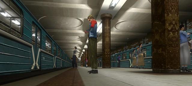 Секс в поезде метро игра фото 583-354